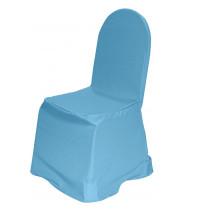 Чехол для стула голубой