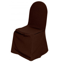 Чехол для стула шоколадный